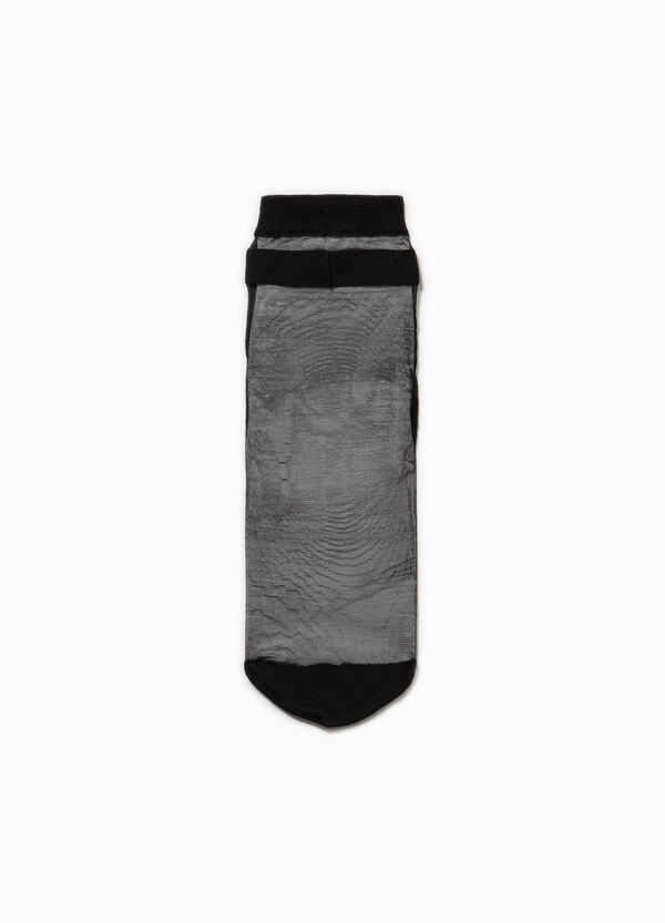 Short stretch semi-sheer socks | OVS