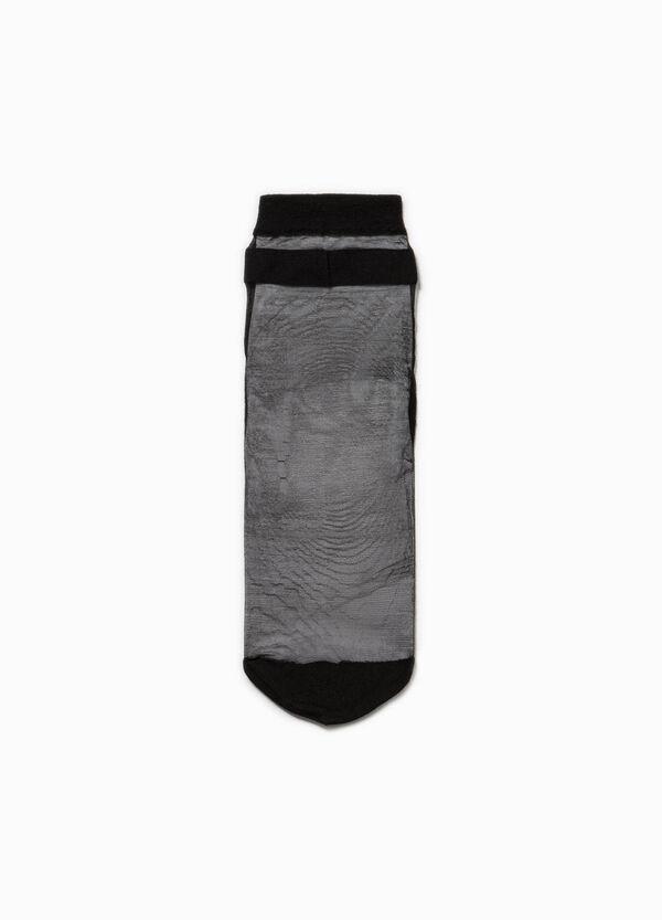 Calze corte stretch semitrasparenti | OVS