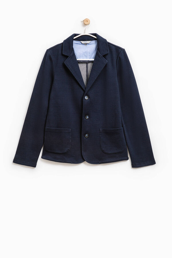 Elegant cotton jacket with three buttons | OVS