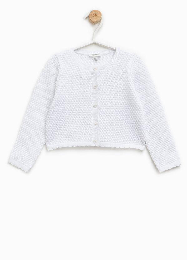 Cardigan tricot con bottoni a cuore | OVS