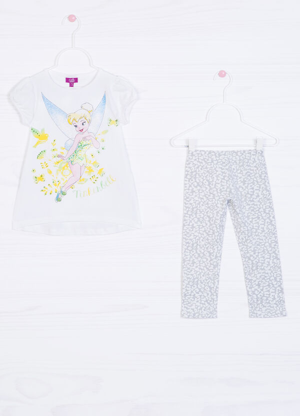 Cotton T-shirt and leggings outfit. | OVS