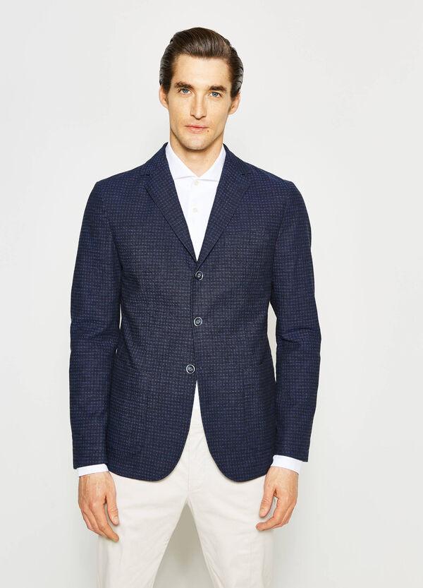 Rumford patterned linen jacket | OVS