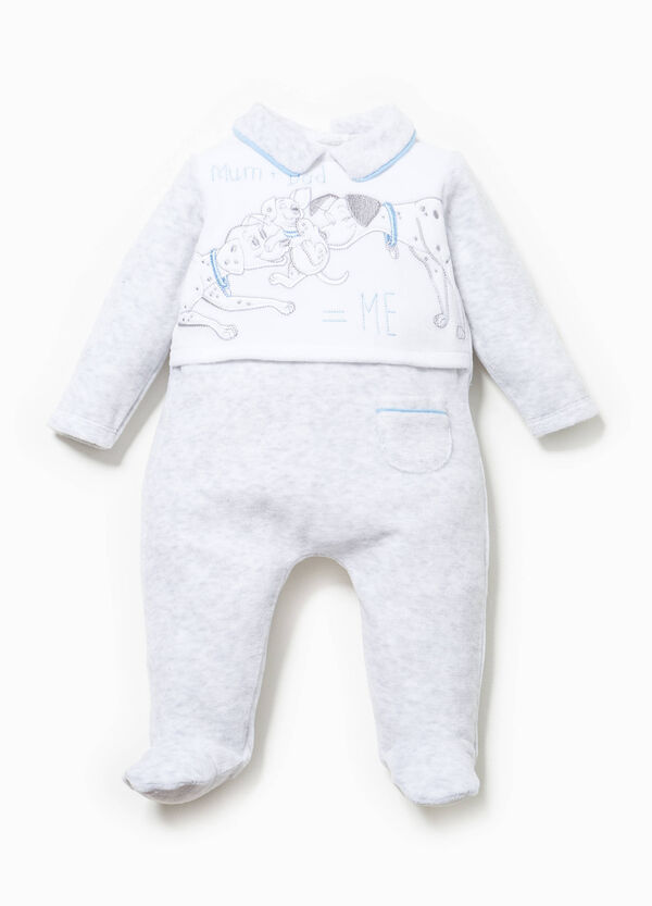 One Hundred and One Dalmatians velour onesie | OVS