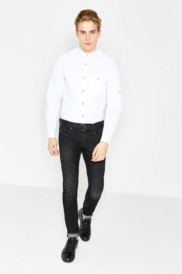 Camicia casual dobby cotone G&H