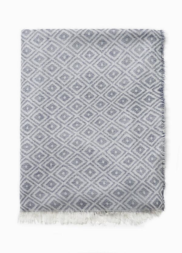 Scarf with diamond pattern | OVS