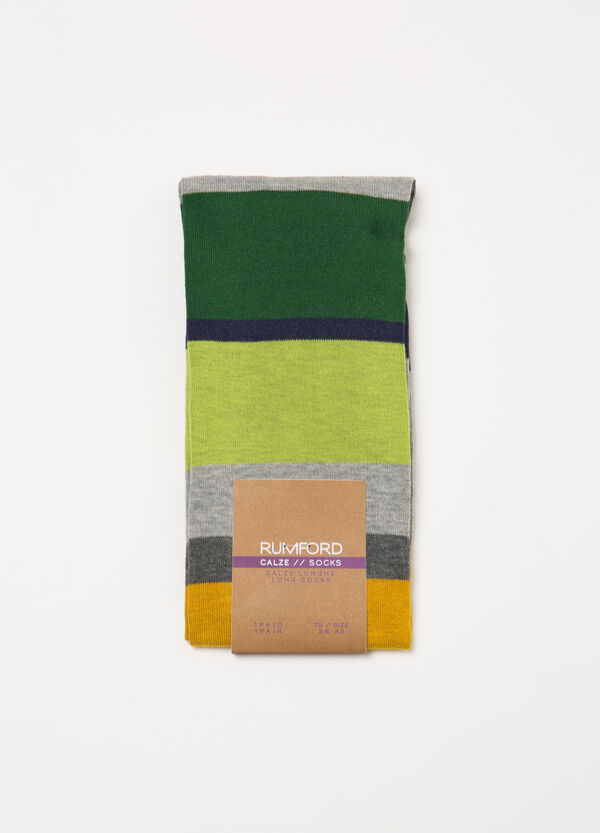 Long socks with Rumford striped pattern | OVS
