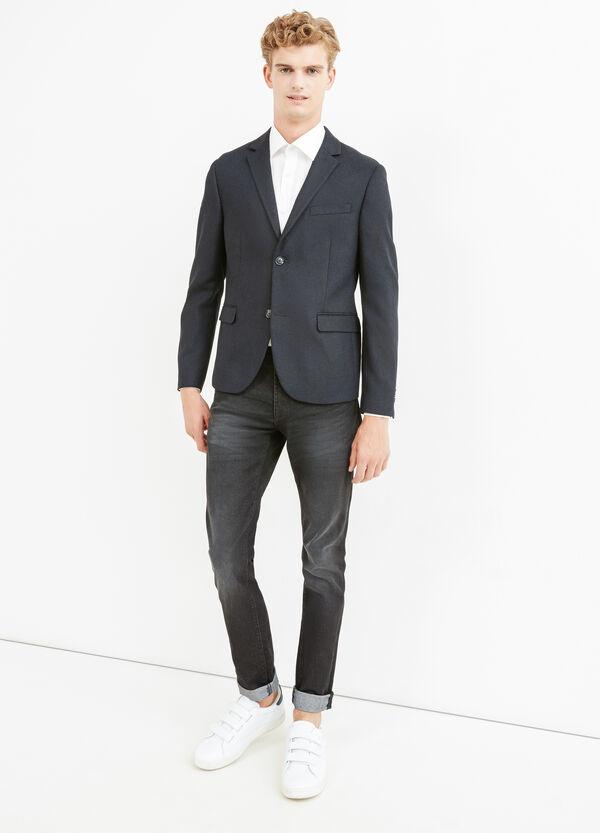 Viscose blend elegant jacket | OVS