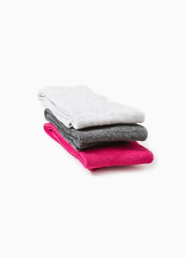 Set tre paia calze lunghe stretch | OVS