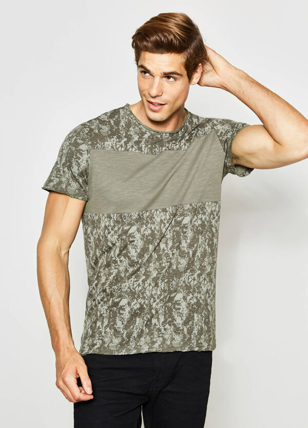 T-shirt camouflage in cotone | OVS