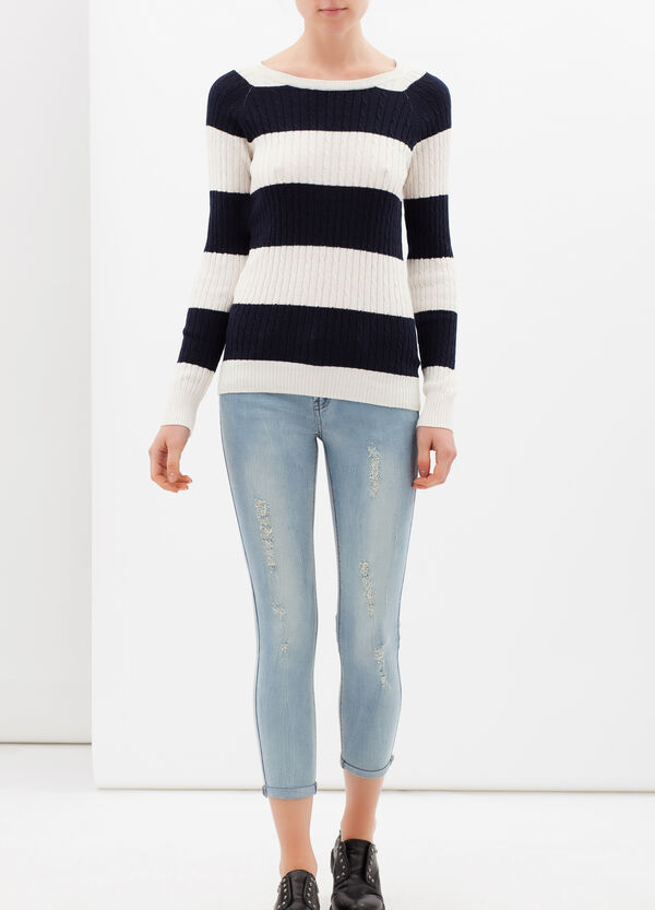 Jeans skinny effetto used | OVS