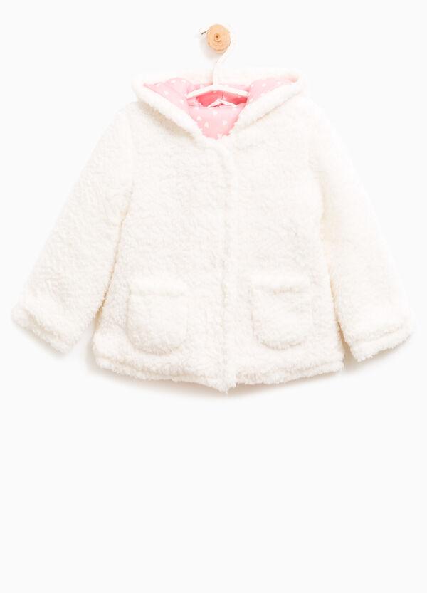 Fur jacket with hood | OVS