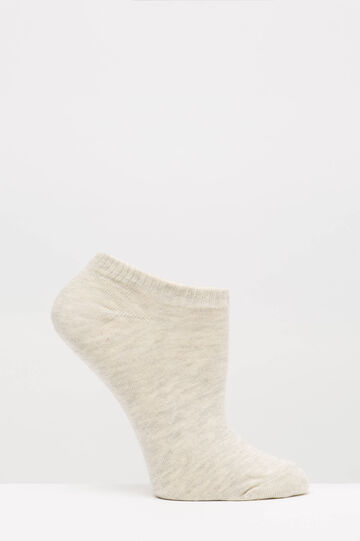 Two-pair pack stretch socks, White/Grey, hi-res