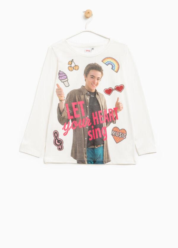 T-shirt cotone stampa Alex & Co.   OVS