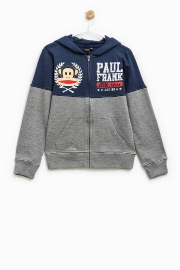 Felpa stampata Paul Frank, Blu/Grigio, hi-res