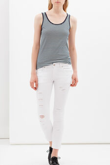 Jeans skinny fit, Bianco, hi-res