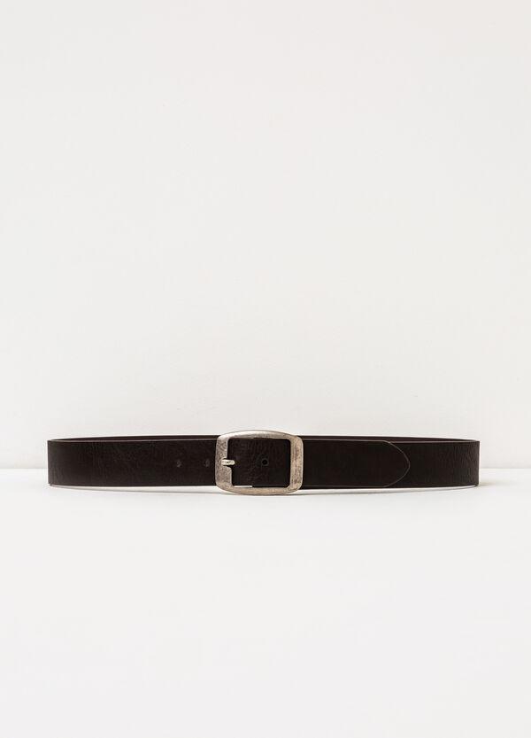 Cintura con fibbia rettangolare | OVS