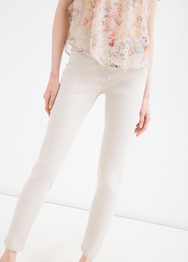 Pantaloni misto modal e cotone | OVS
