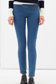 Skinny fit stretch jeggings, Light Wash, hi-res