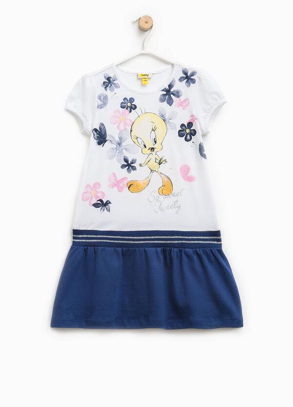 Cotton dress with Tweetie Pie print | OVS