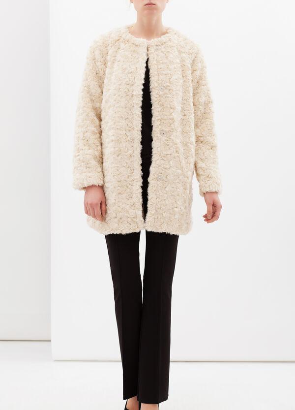 Faux fur coat | OVS
