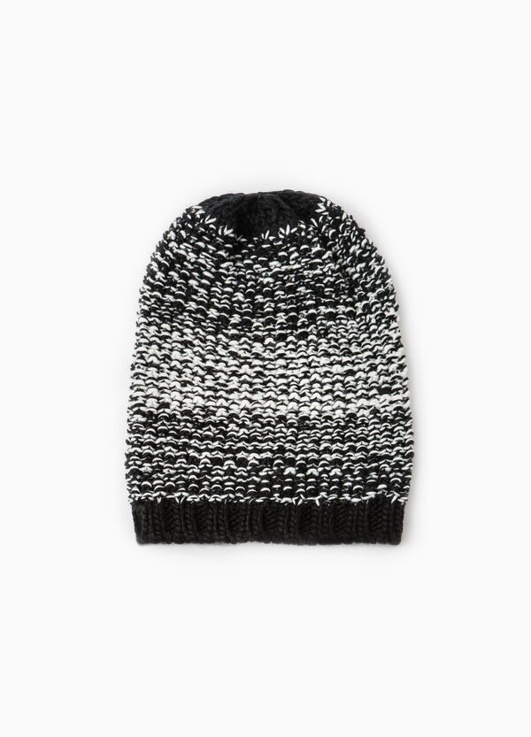 Knitted pattern beanie cap | OVS