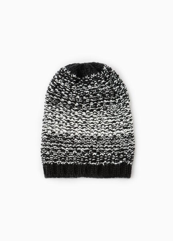 Cappello a cuffia tricot fantasia | OVS