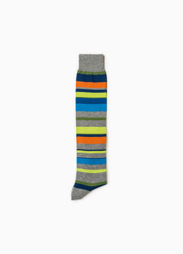 Long stretch socks with Rumford striped pattern | OVS