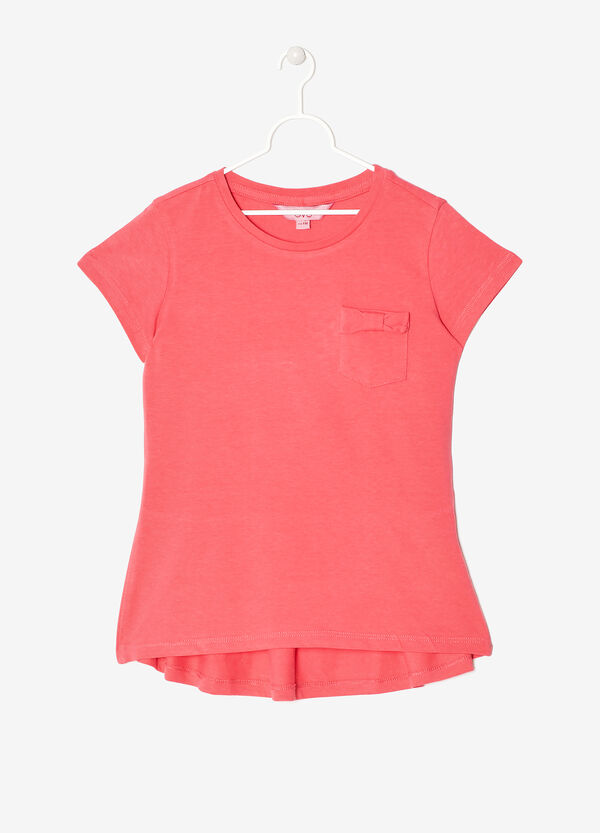 T-shirt  with  pocket  and  bow | OVS