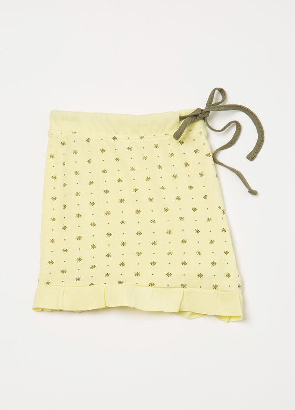 Printed pyjama shorts in cotton | OVS