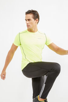 OVS Active Sport Training T-shirt, Lime Green, hi-res