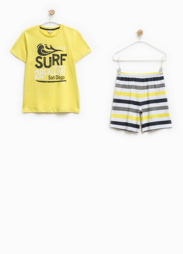 Striped pyjamas in 100% Biocotton | OVS