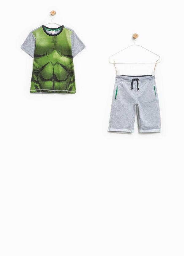Maxi Hulk print outfit | OVS
