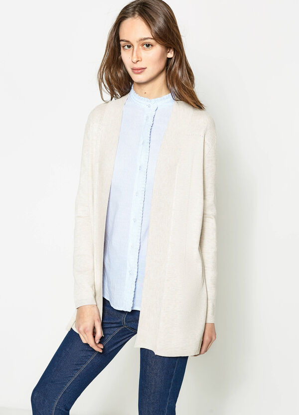 Long cardigan without buttons   OVS