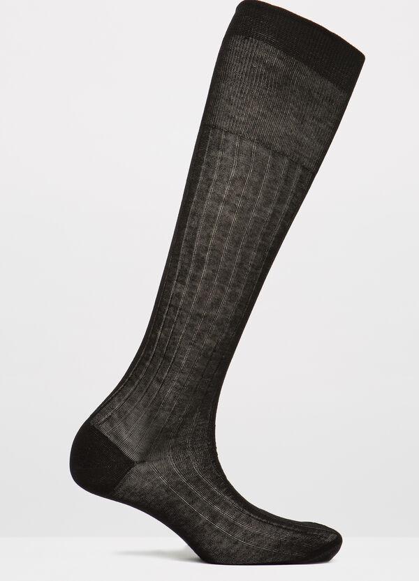 Calze lunghe tinta unita puro cotone | OVS