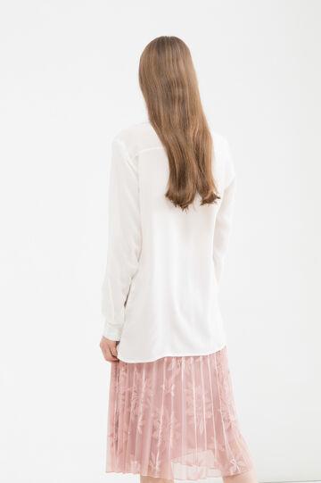 100% viscose blouse., White, hi-res