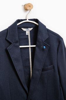 Giacca elegante due bottoni, Blu, hi-res