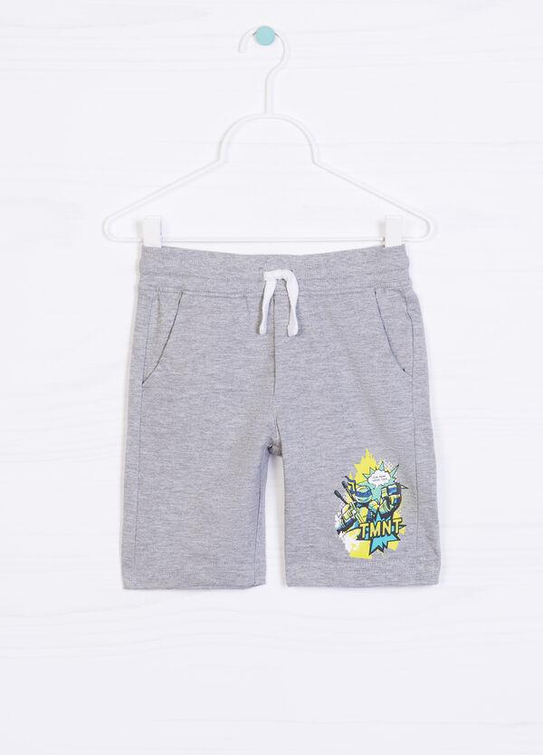 Teenage Mutant Ninja Turtle print cotton shorts | OVS