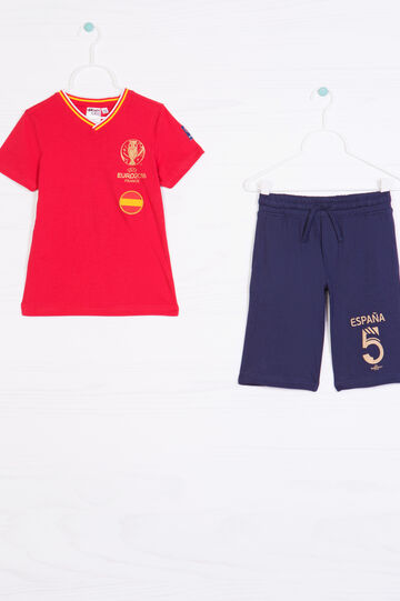 Outfit with UEFA Euro 2016 patch, Blue/Red, hi-res