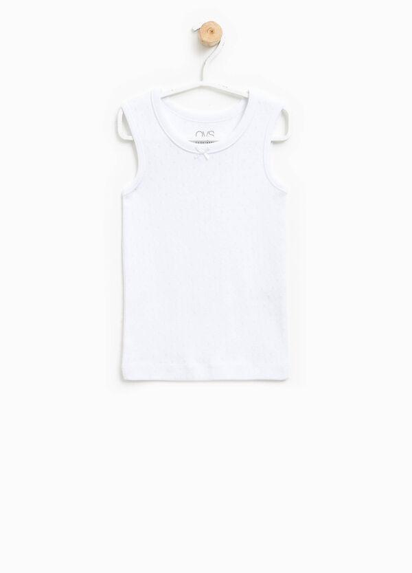Camiseta de tirantes interior calada | OVS