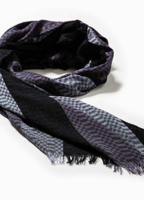 Bufanda de rayas en algodón y viscosa | OVS