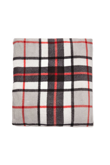 Tartan pattern scarf, Multicolour, hi-res