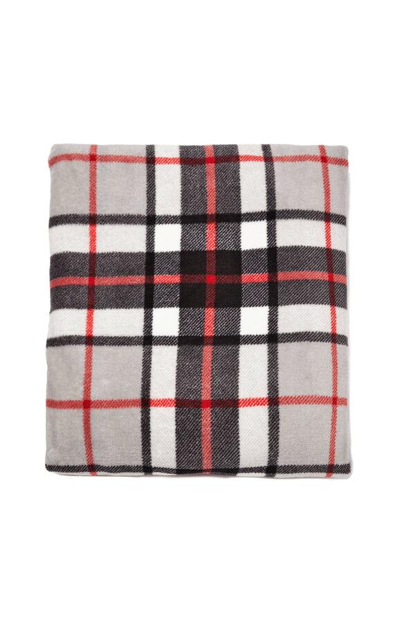 Tartan pattern scarf | OVS