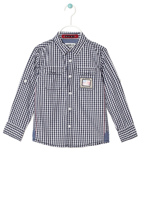 Checked shirt with pockets. | OVS