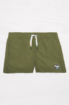 Boxer mare tinta unita Maui and Sons, Verde militare, hi-res