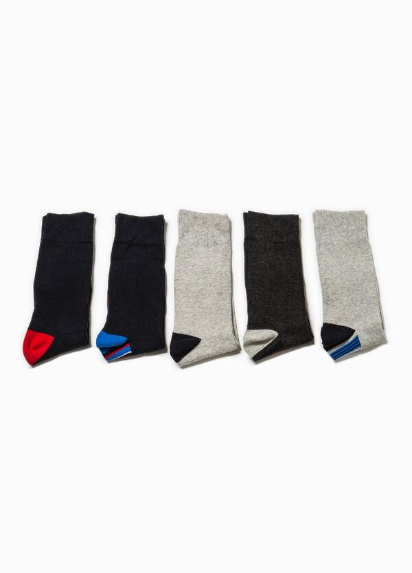 Pack de cinco pares de calcetines de rayas | OVS