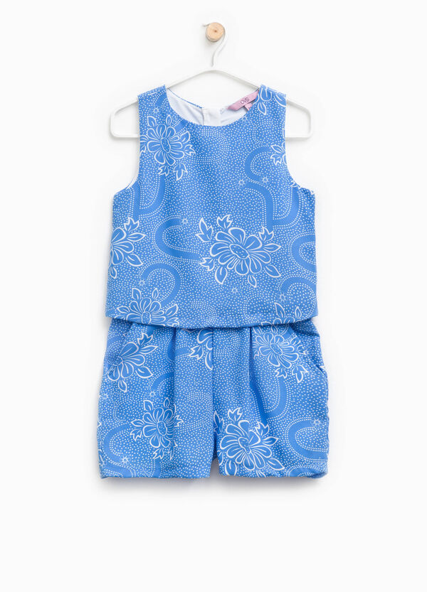 Sleeveless onesie with all-over print | OVS