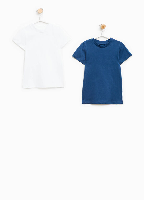 Two-pack solid colour undershirts | OVS