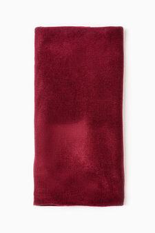 Sciarpa tinta unita, Rosso bordeaux, hi-res