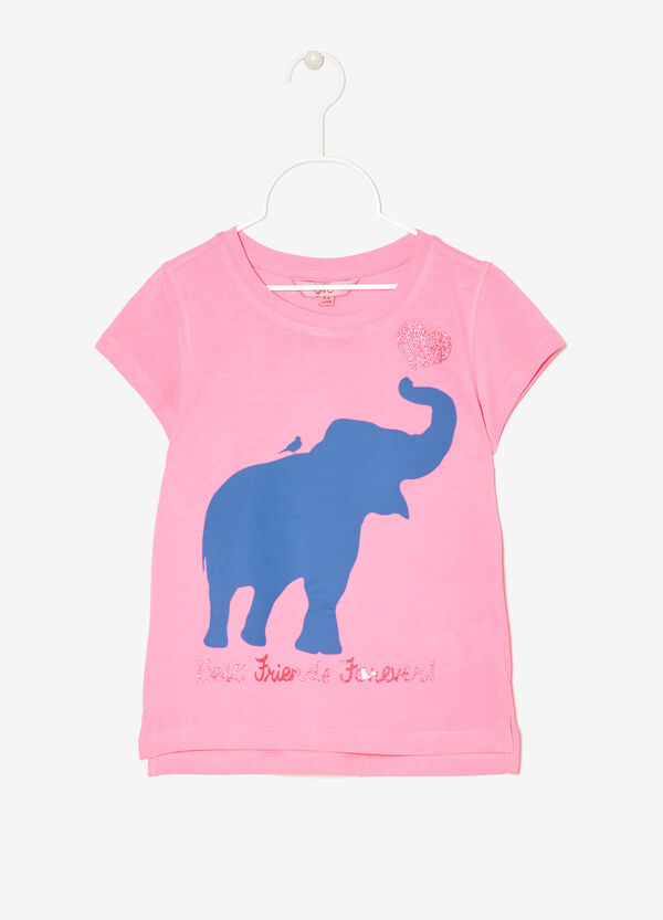 T-shirt with print | OVS