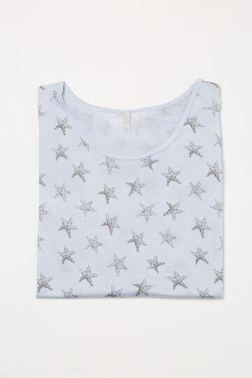 Maglia pigiama viscosa stampata
